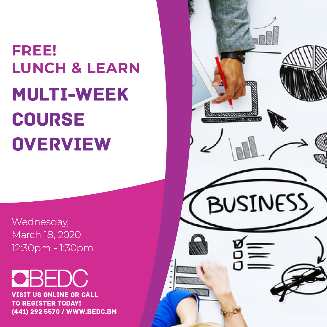 Virtual Lunch & Learn! BEDC Multi-week Course Overview