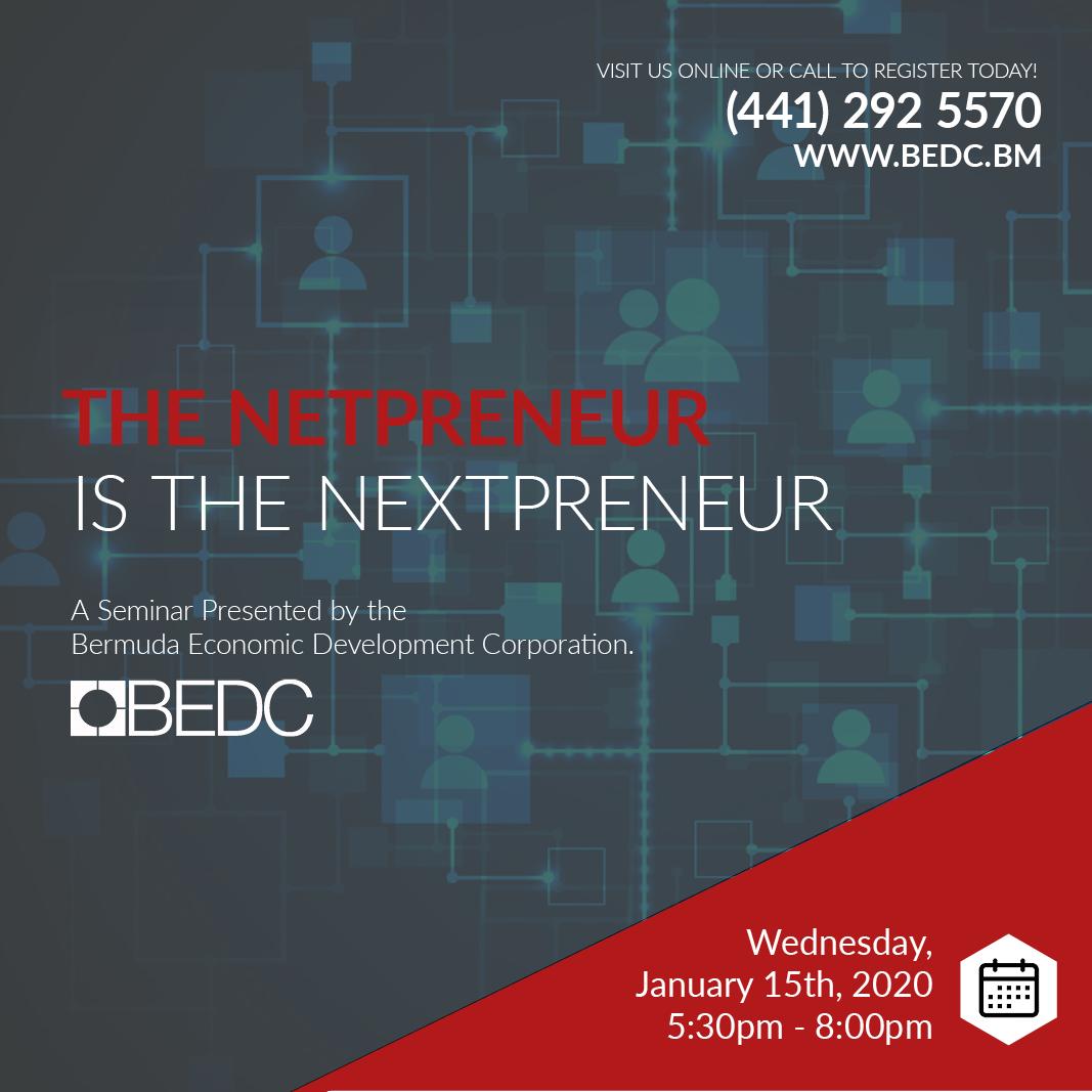 The Netpreneur is the Nextpreneur