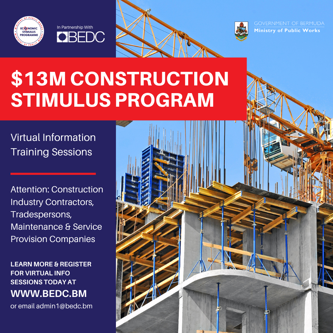 Construction Stimulus Program: BEDC Launches Virtual Information Sessions to Support