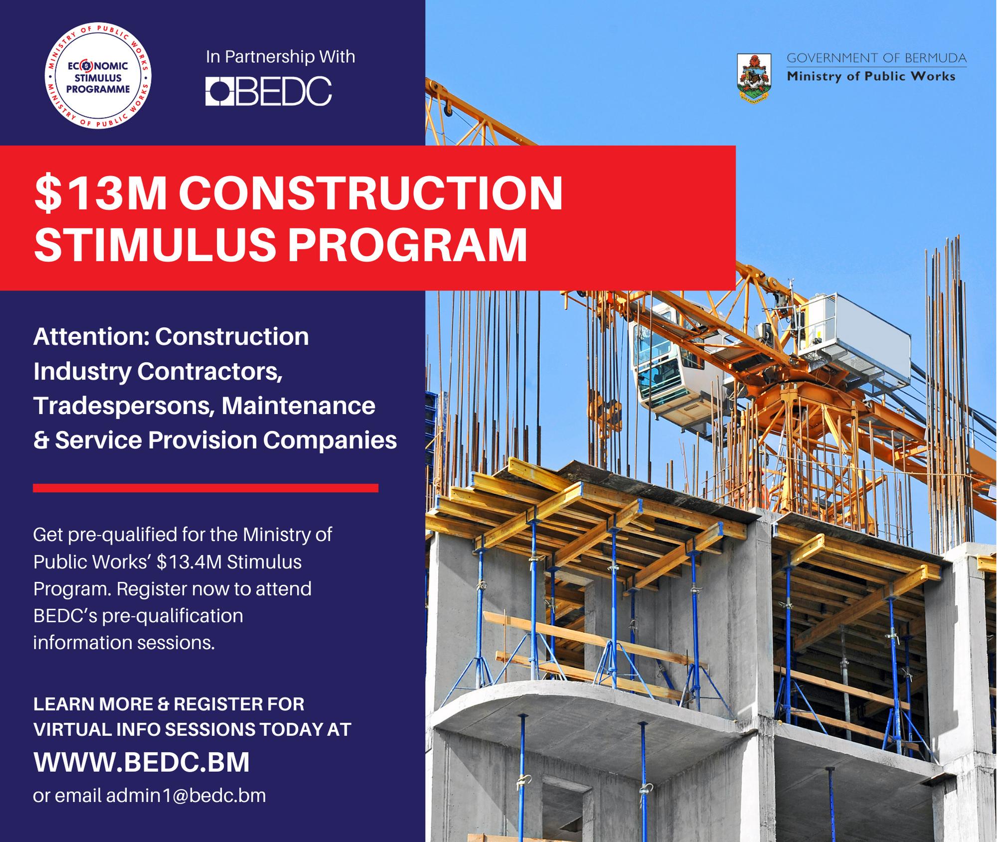MPW Construction Stimulus Program – Session Recordings & Documents