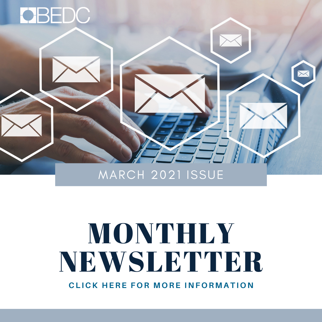 March 2021 – Here's What's Happening at BEDC