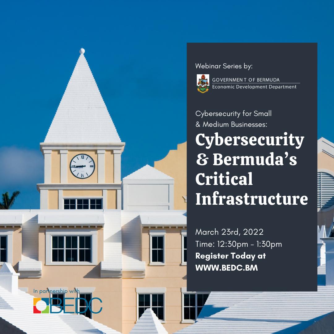 Cybersecurity & Bermuda's Critical Infrastructure