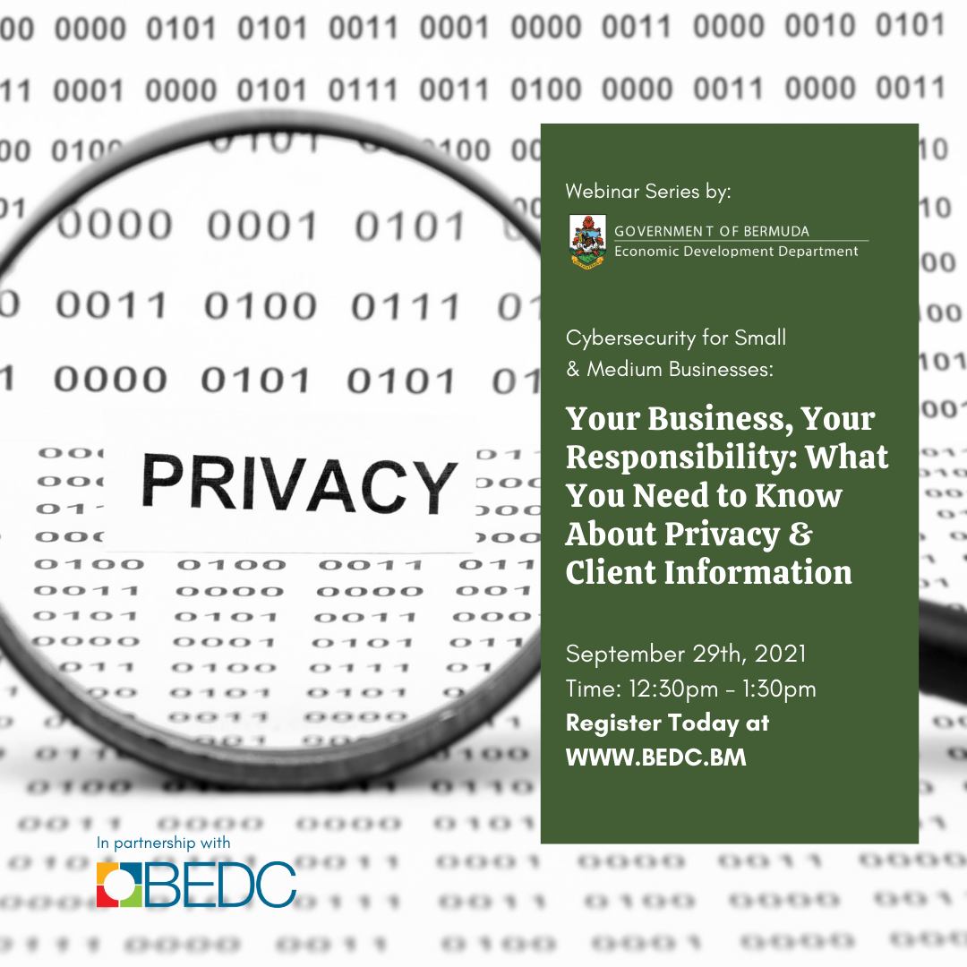Your Business, Your Responsibility: What You Need to Know About Privacy & Client Information